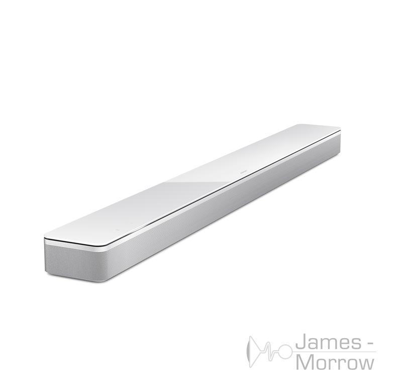 Bose Soundbar 700 white front side elevated product image