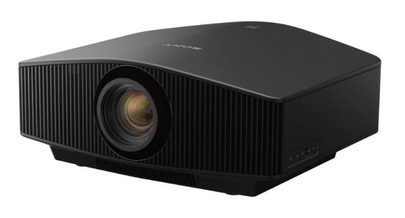 Sony Projector product image front side black