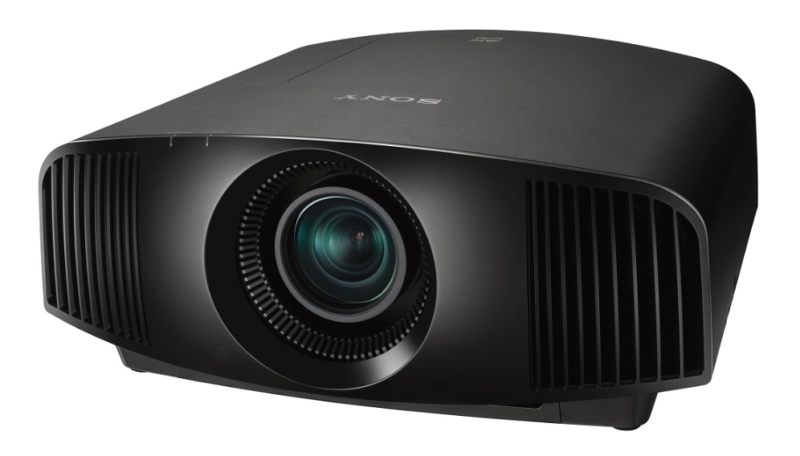 Sony Projector product image side whiteSony Projector product image front side black