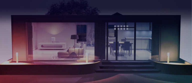 low-lit room header image exterior