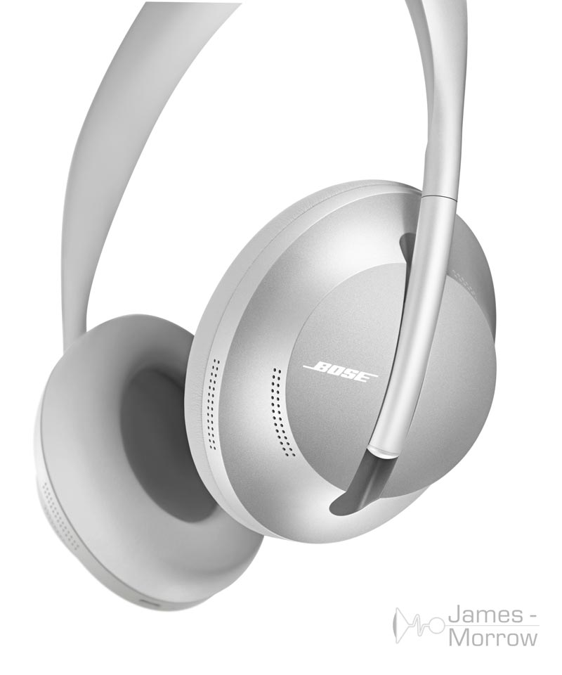 Bose Headphone 700 silver front close-up product image