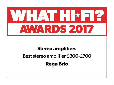 what hifi 2017 reward rega brio icon