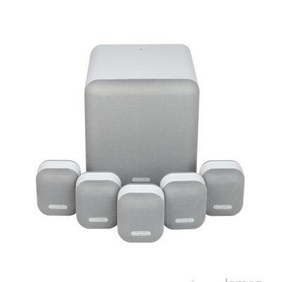 monitor audio mass 5.1 group silver profile product image