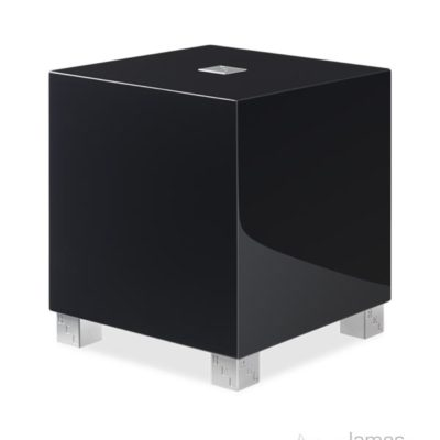 REL T/5i in living room black profile product image