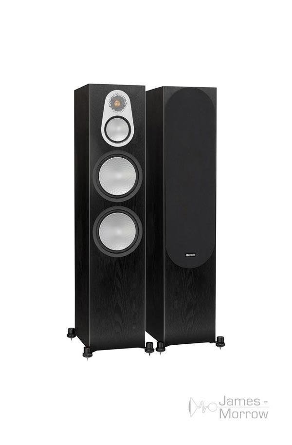 monitor audio silver 500 pair black oak profile product image resize