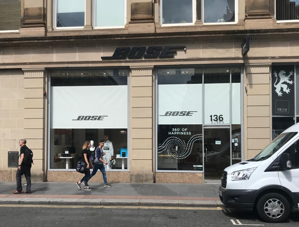 Bose Glasgow Exterior News Header