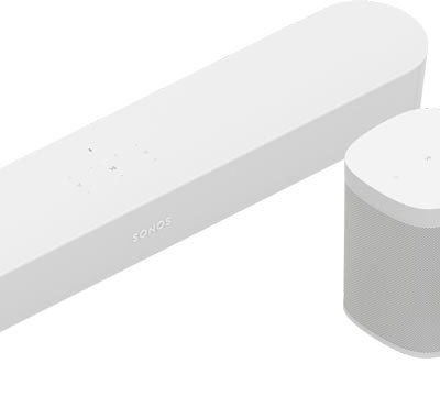 Sonos Beam white and two sl bundle product image