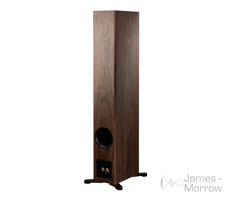 Dynaudio Evoke 50 Walnut Back Side Product Image