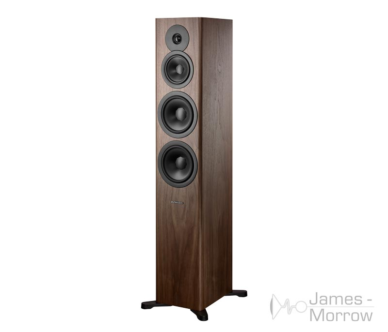 Dynaudio Evoke 50 Walnut Front Side Product Image