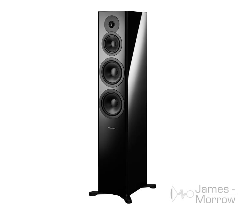 Dynaudio Evoke 50 Black Front Side Product Image