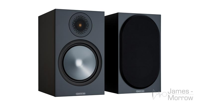 Monitor Audio Bronze 100 black front side product image