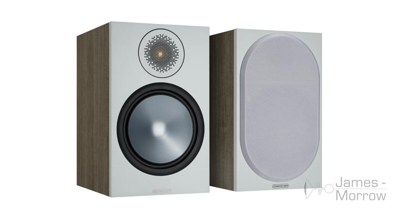 Monitor Audio Bronze 100 Urban Grey front side product image