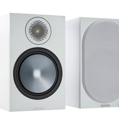 Monitor Audio Bronze 100 white front side product image
