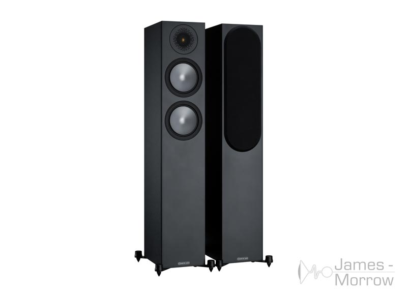 Monitor Audio Bronze 200 black front side product image
