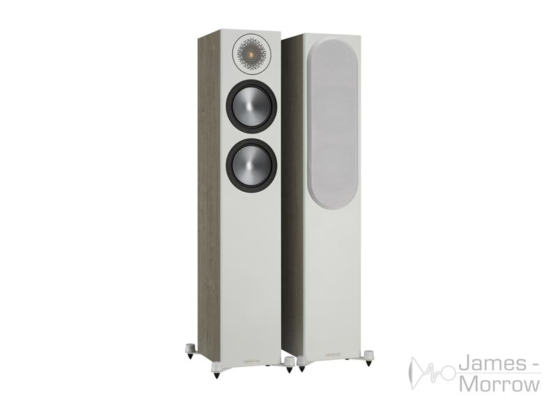 Monitor Audio Bronze 200 urban grey front side product image