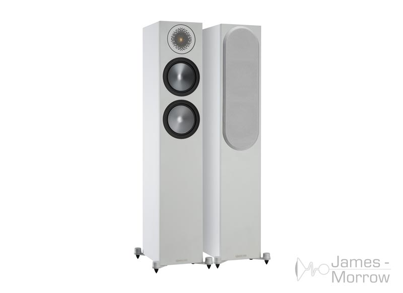Monitor Audio Bronze 200 white front side product image