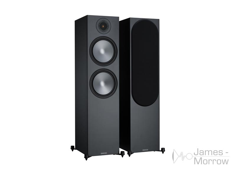 Monitor Audio Bronze 500 black front side product image