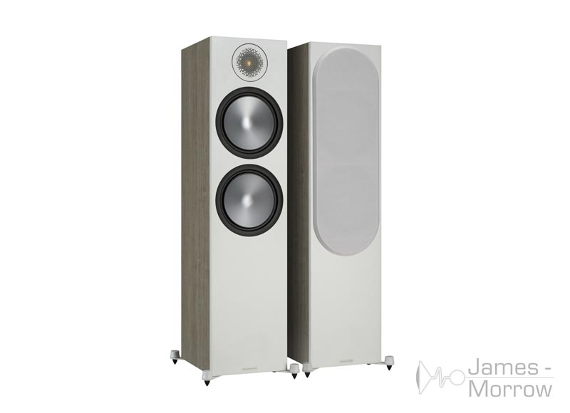 Monitor Audio Bronze 500 urban grey front side product image