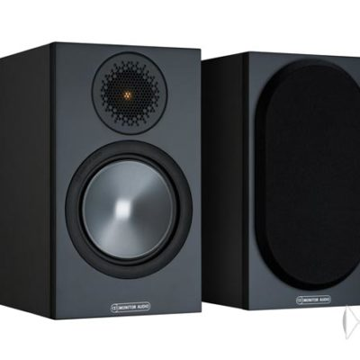 Monitor Audio Bronze 50 black front side product image