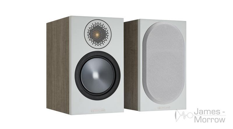 Monitor Audio Bronze 50 urban grey front side product image