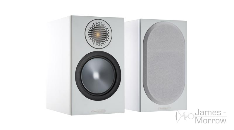 Monitor Audio Bronze 50 white front side product image
