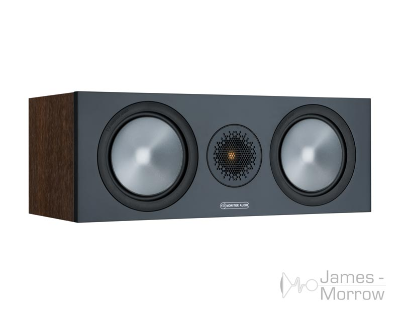 Monitor Audio Bronze C150 walnut front side product image