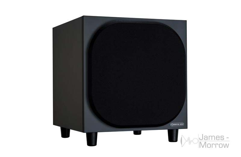 Monitor Audio W10 black front side product image