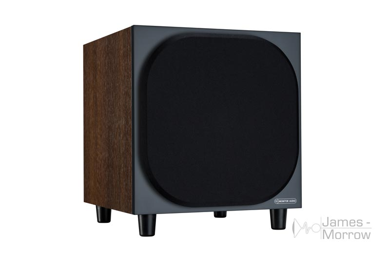 Monitor Audio W10 walnut front side product image