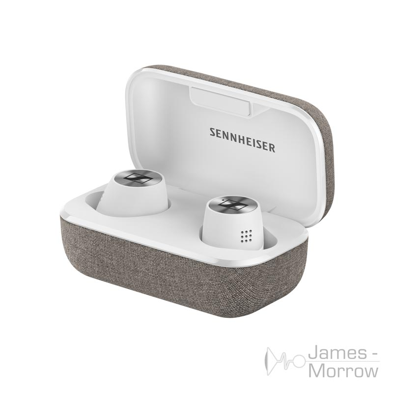 Sennheiser Momentum True Wireless Earphones 2 white in case product image