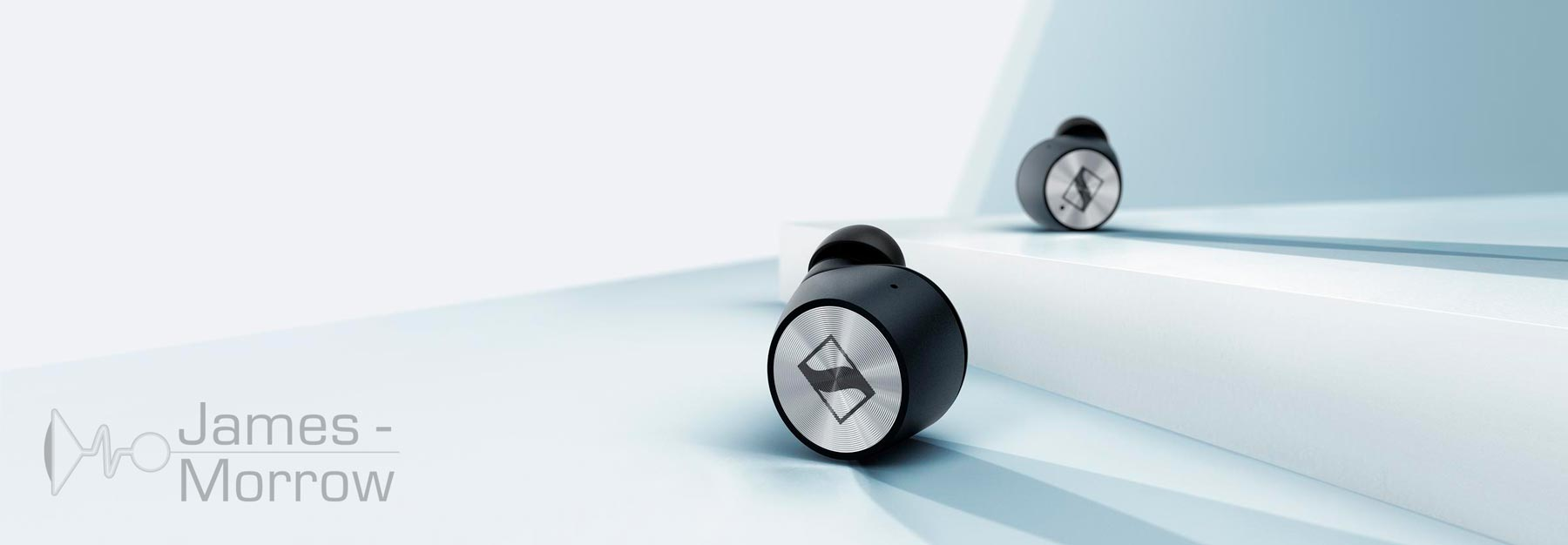 Sennheiser Momentum True Wireless Earphones 2 black banner image