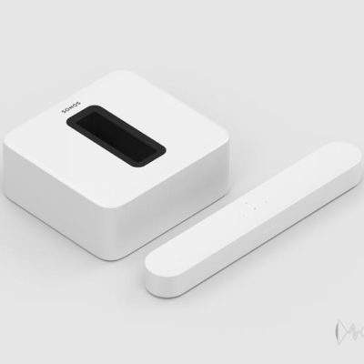 Sonos Beam and Sub white bundle product image