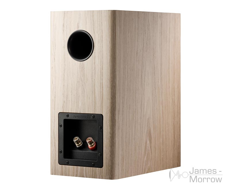 Dynaudio Evoke 20 blonde wood back side product image