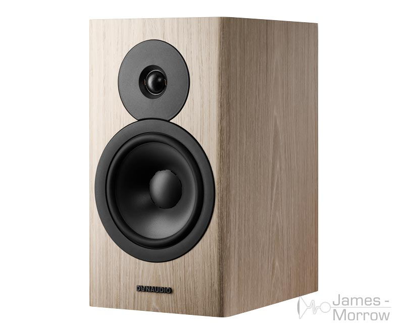 Dynaudio Evoke 20 blonde wood front side product image