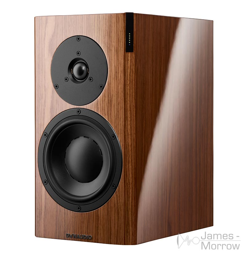 Dynaudio focus 20 xd walnut front side product image