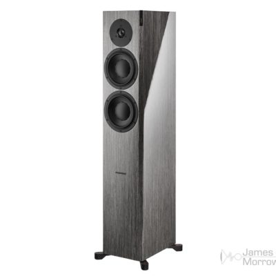 dynaudio focus 30 xd gloss grey oak front side product image