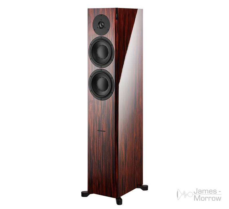 dynaudio focus 30 xd gloss rosewood front side product image