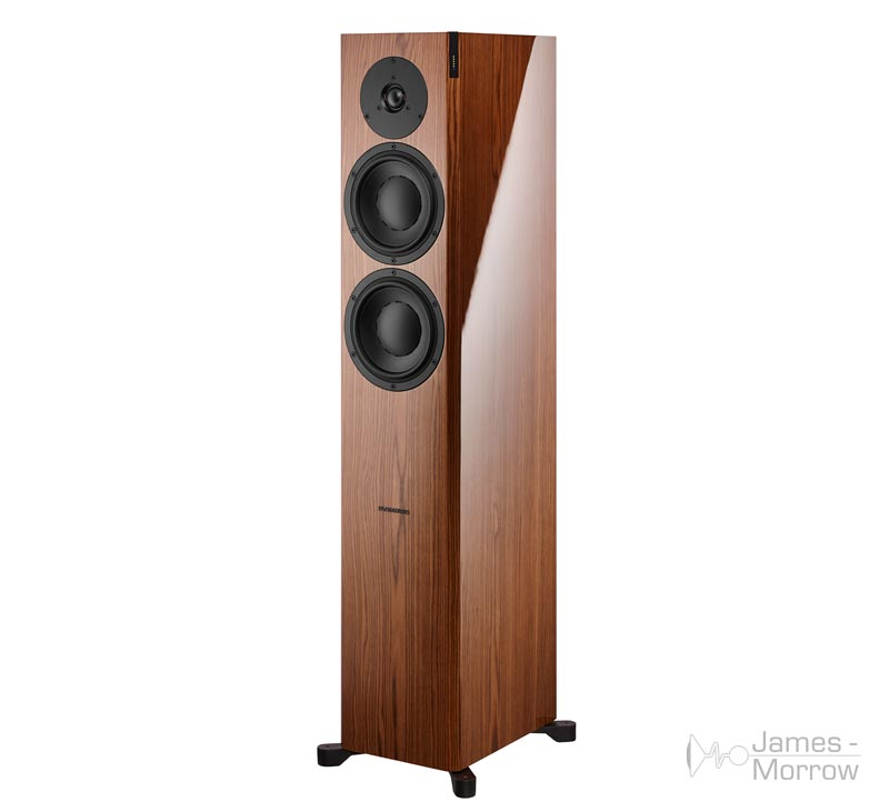 dynaudio focus 30 xd gloss walnut front side product image