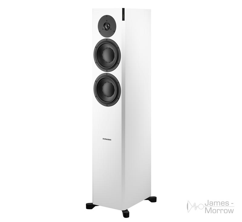 dynaudio focus 30 xd satin white front side product image