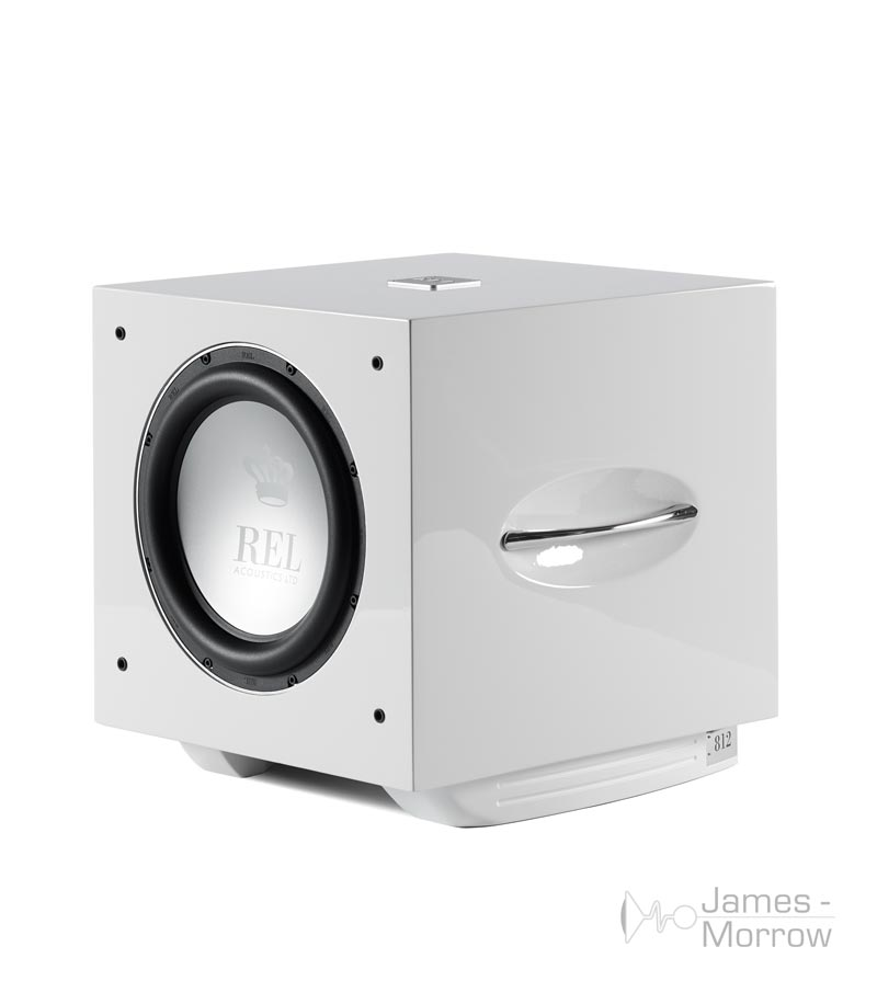 REL S/812 white profile no grill product image