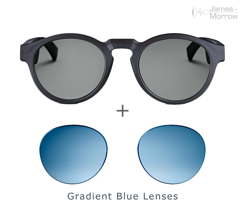 Bose Frames Rondo with blue lenses product image