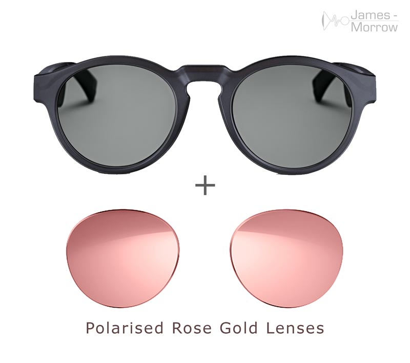 Bose Frames Rondo with Rose Gold lenses product image