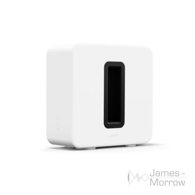 Sonos Sub Gen 3 White front side product image