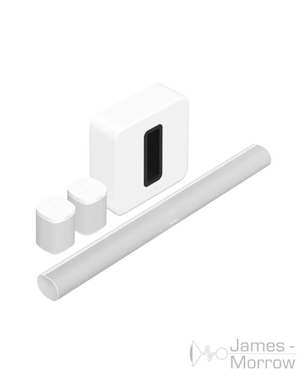 sonos arc surround set sub gen 3 one sl white profile product image