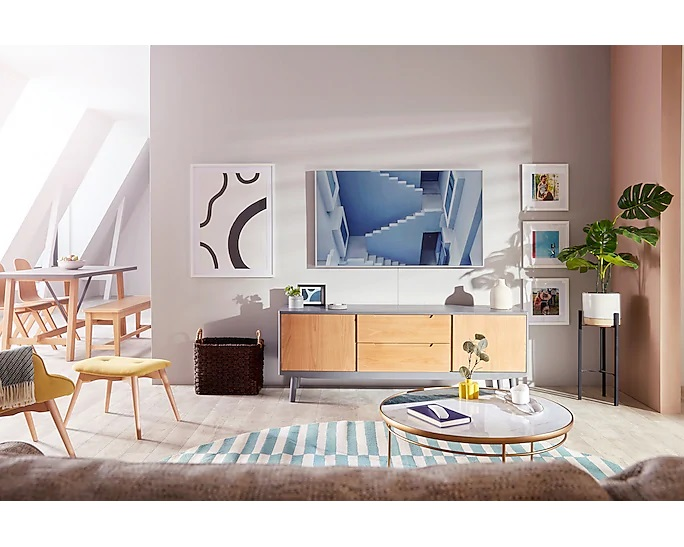 samsung frame ls03t front wall lifestyle image