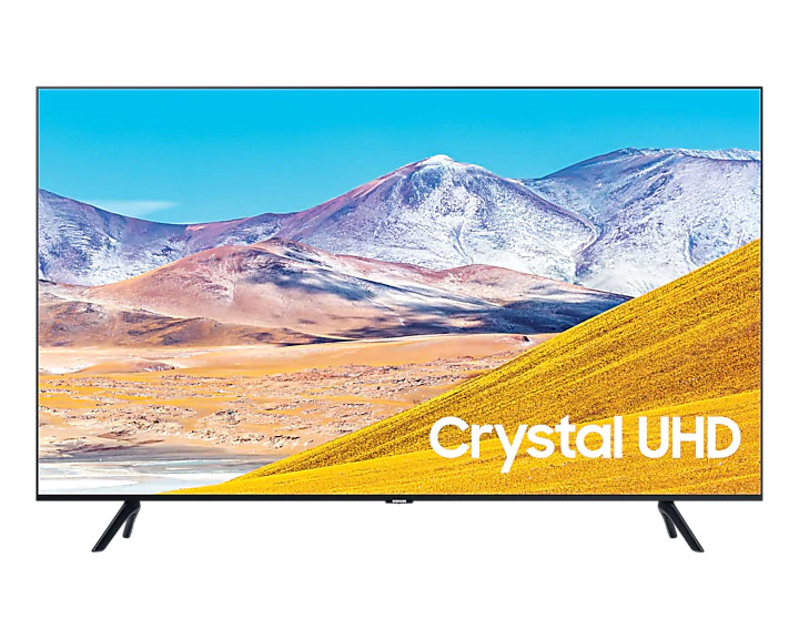 samsung tu8000 front product image