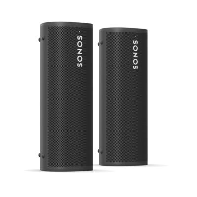 Sonos Roam Pair Black Front Side product image