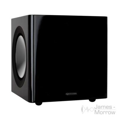 monitor audio radius 380 black front product image